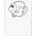 Coy Fish Drawing