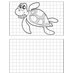 Happy Turtle Drawing