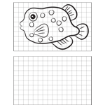 Spotted Fish Drawing