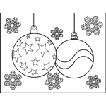 Christmas Ornaments with Stars