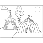 Tents and Balloons