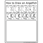 How to Draw Angelfish