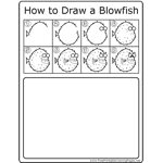 How to Draw Blowfish