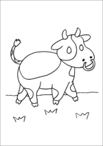 Walking Cow