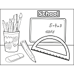 Protractor School Supplies
