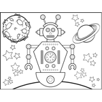 Space_Travel Robot