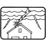 Lightning Strike House
