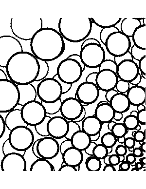 Abstract Pearls Coloring Page