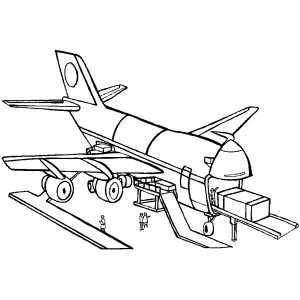 Air Freight coloring page
