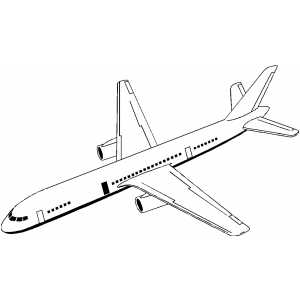 Jet Plane coloring page