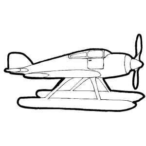 old planes coloring pages - photo#25