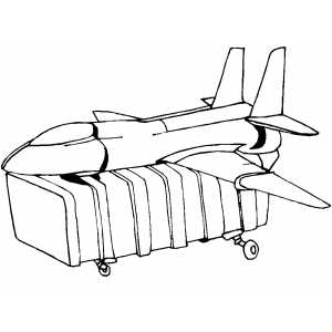 Toy Plane coloring page