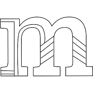 Lowercase M Coloring Page