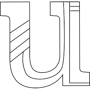 Lowercase U Coloring Page
