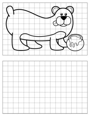 Bear-Drawing-1 coloring page