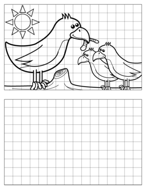 Bird-Drawing-2 coloring page