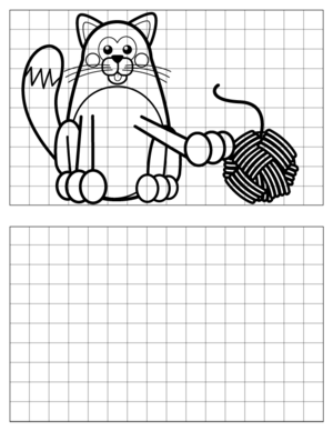 Cat-Drawing-4 coloring page