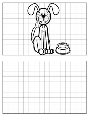 Dog-Drawing-1 coloring page