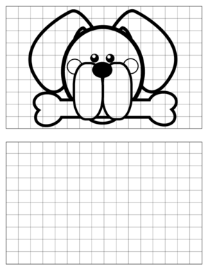 Dog-Drawing-2 coloring page