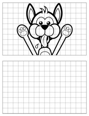 Dog-Drawing-3 coloring page