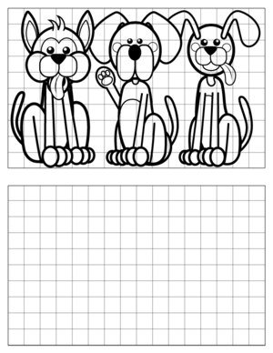 Dog-Drawing-4 coloring page