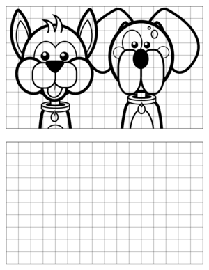 Dog-Drawing-5 coloring page