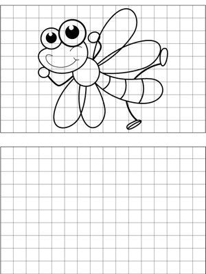 Dragonfly Drawing coloring page