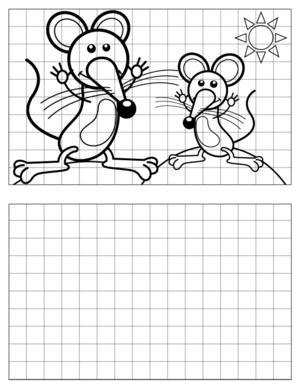 Mouse-Drawing-2 coloring page