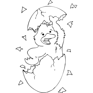 duck egg coloring pages-#4