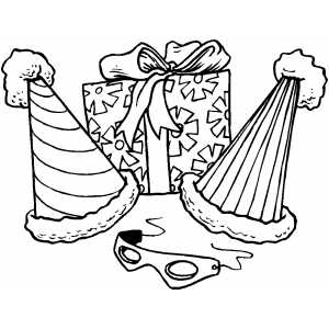 Party Favors coloring page