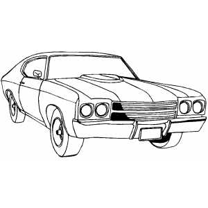 Cars And Trucks Coloring Pages