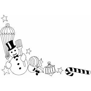 Christmas Stuff coloring page
