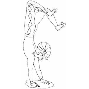 acrobat coloring pages - photo#15