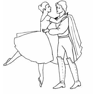 Ballet Union Movement coloring page