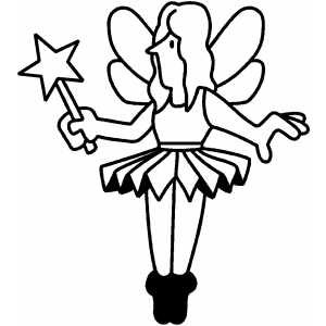 Fairy Toy coloring page