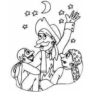 Pirates Company coloring page