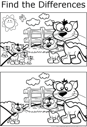 FTD Cats coloring page
