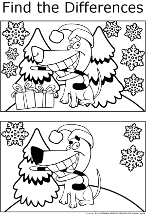 FTD Christmas Puppy coloring page