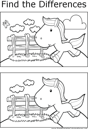 FTD Jumping Horse coloring page