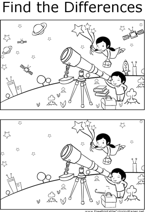 ftd kids astronomy coloring page