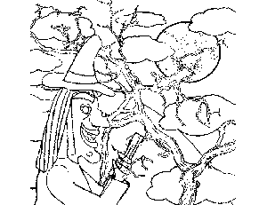 Wicked Witch coloring page