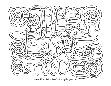 Laughing Out Loud Hidden Word coloring page