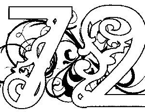 Illuminated-72 Coloring Page