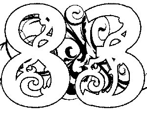 Illuminated-83 Coloring Page