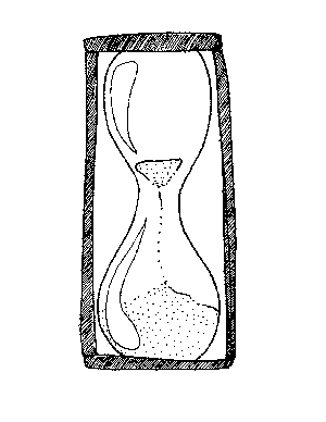 Hourglass Coloring Page