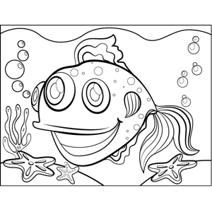 Spotted Fish coloring page