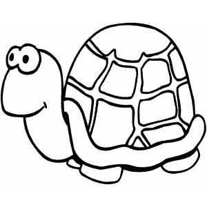 Turtle Kid coloring page