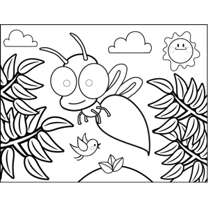 Bug in Branches coloring page