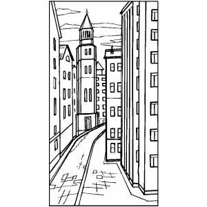 street coloring pages - photo#17