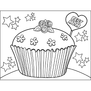 Cute-Mothers-Day-Coloring-Page-6 coloring page